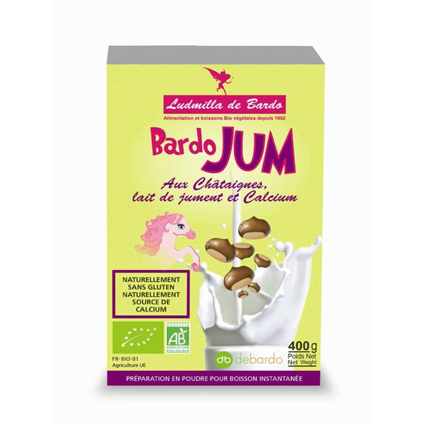 Bardo'Jum Chataigne bio et lait de jument