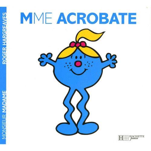 Livre Madame Acrobate