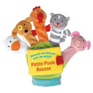 Livre gant Petite poule rousse