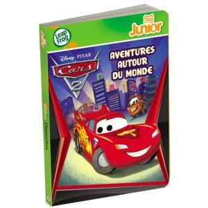 Livre Tag junior Cars 2