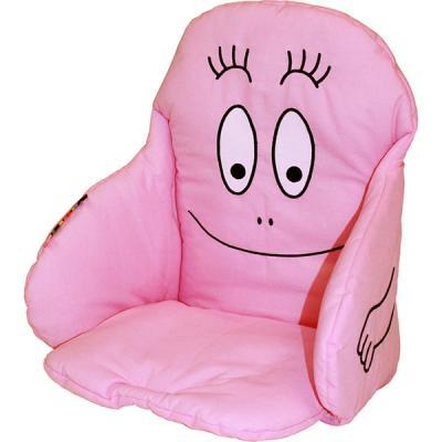 Coussin de chaise tissu barbapapa