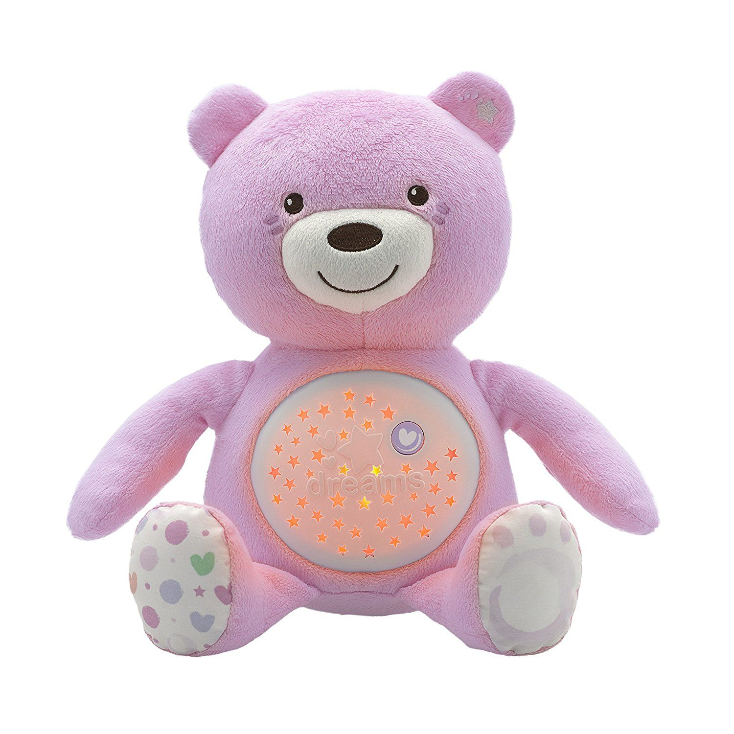 Veilleuse peluche avec projecteur First Dream CHICCO