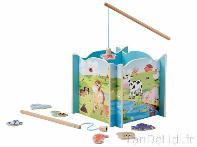 Puzzle en bois avec canne Playtive LIDL