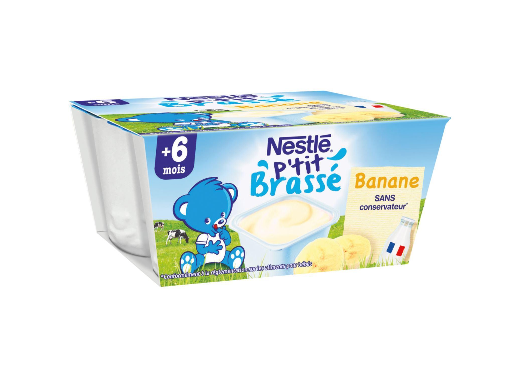 P'tit brassé saveur banane NESTLÉ