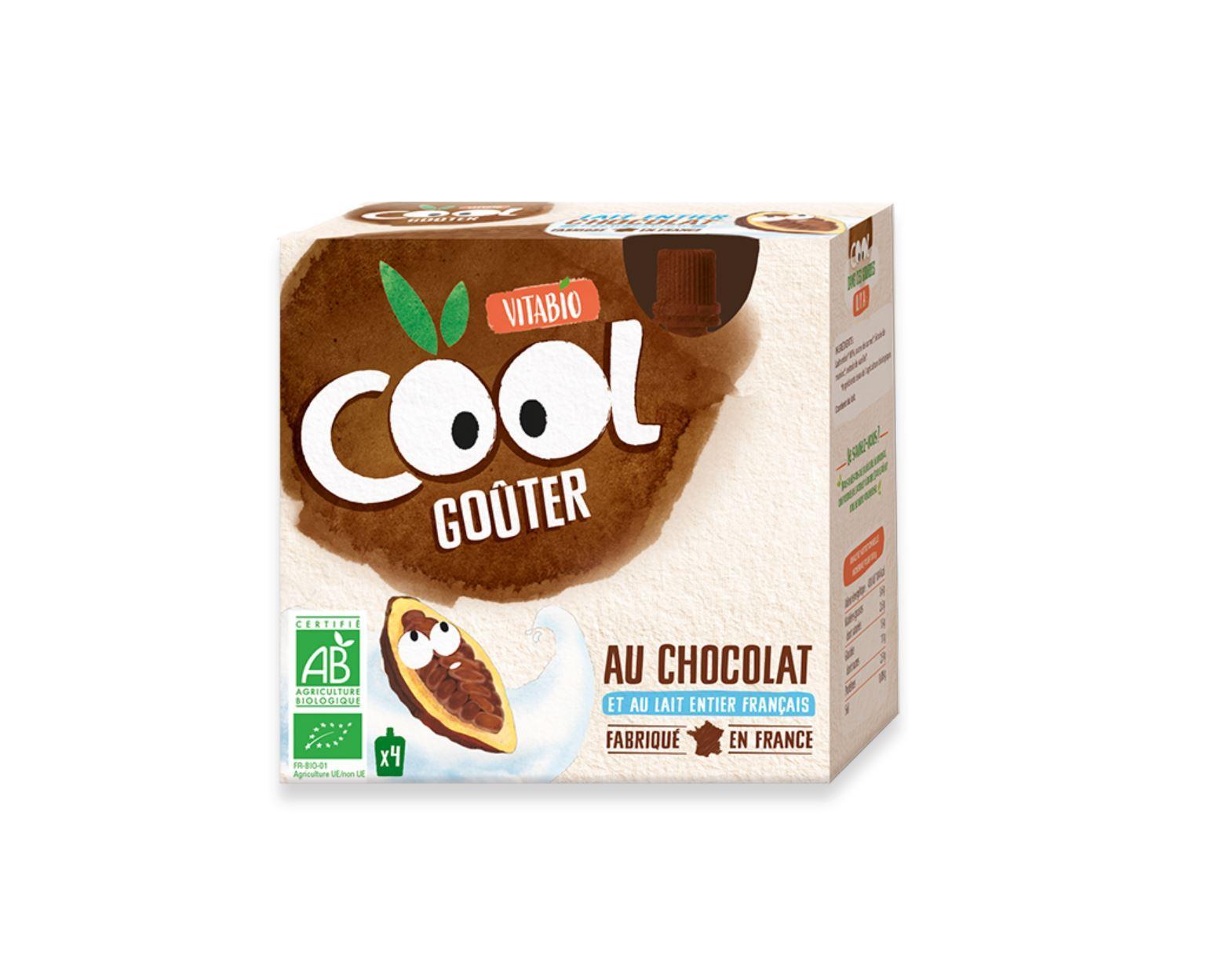Cool Goûter - au Lait de Vache français - Cacao