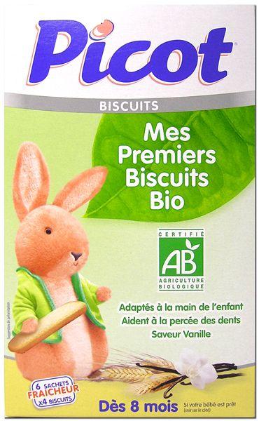 Mes Premiers Biscuits Bio PICOT
