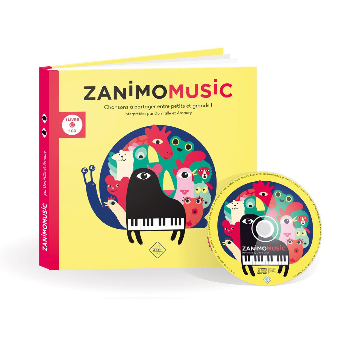 Zanimomusic Chansons à partager entre petits et grands