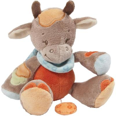 MINI DOUDOU MUSICAL VACHE LITTLE GARDEN
