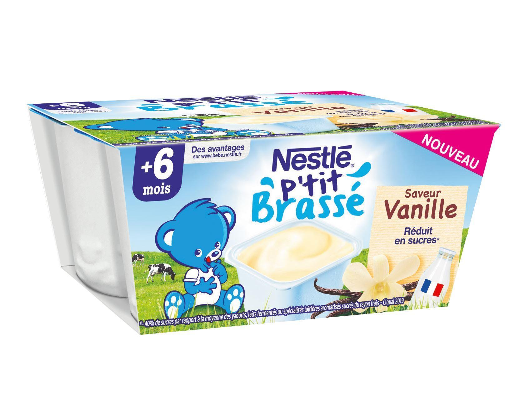 P'tit Brassé Vanille (4x100g)