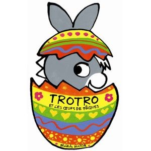 Livre L'âne Trotro et les oeufs de Pâques L'ANE TROTRO