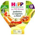 Jardinière de Légumes Boeuf - 1 assiette x 260g - 18 mois