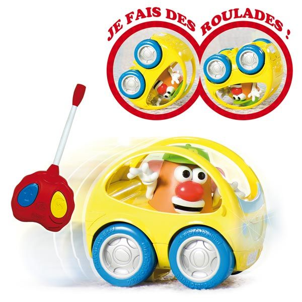 Voiture radiocommandée de Mr Patate