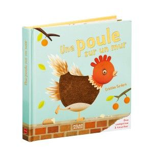 Livre Une poule sur un mur