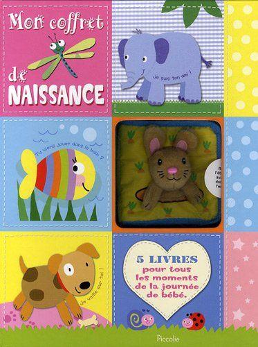 Mon coffret de naissance : 5 livres pour tous les moments de la journée de bébé