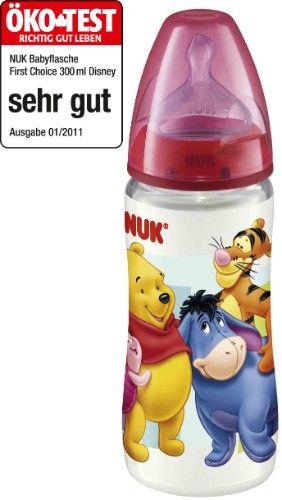 Biberon large goulot sans BPA First Choice 300 ml NUK