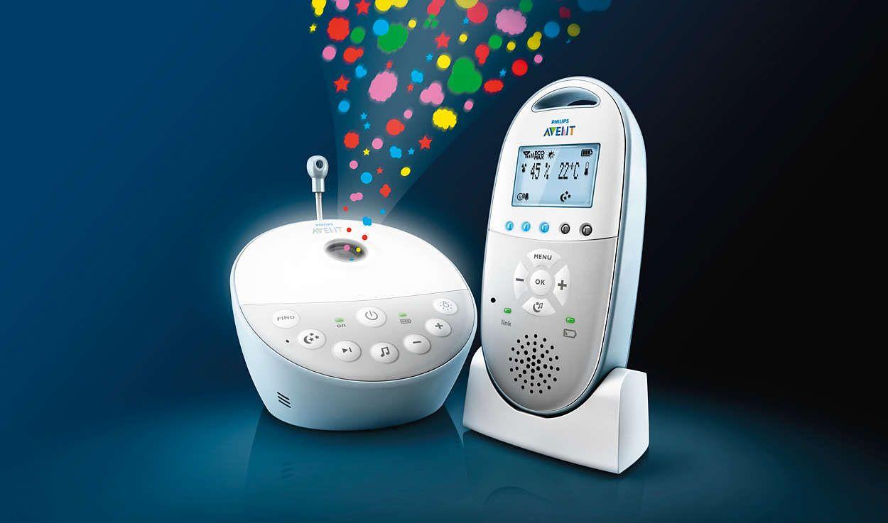 Babyphone SCD 580 AVENT-PHILIPS