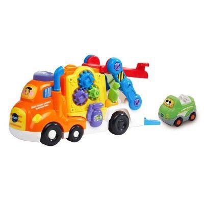 Tut Tut Bolides : Mon super camion transporteur avec cabriolet
