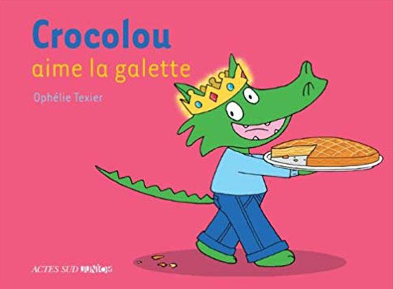 Livre Crocolou aime la galette