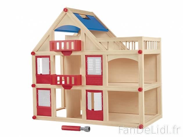 Maison de poupée en bois Playtive LIDL