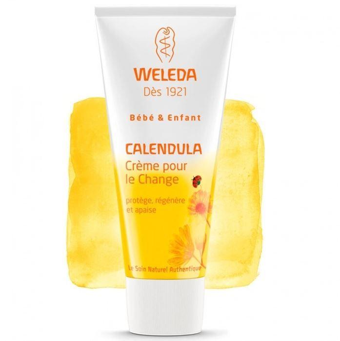 Crème pour le change WELEDA