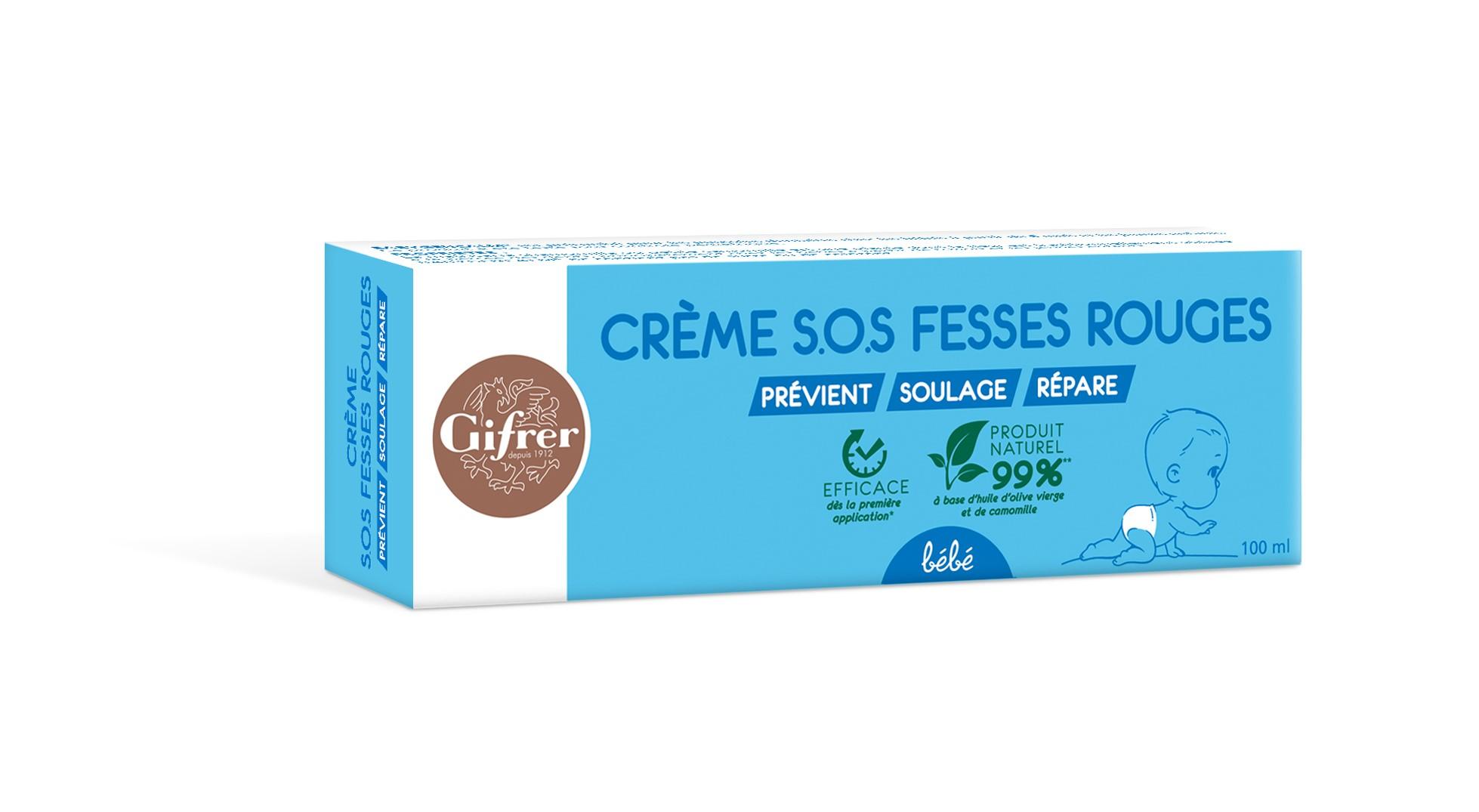 Crème SOS Fesses Rouges