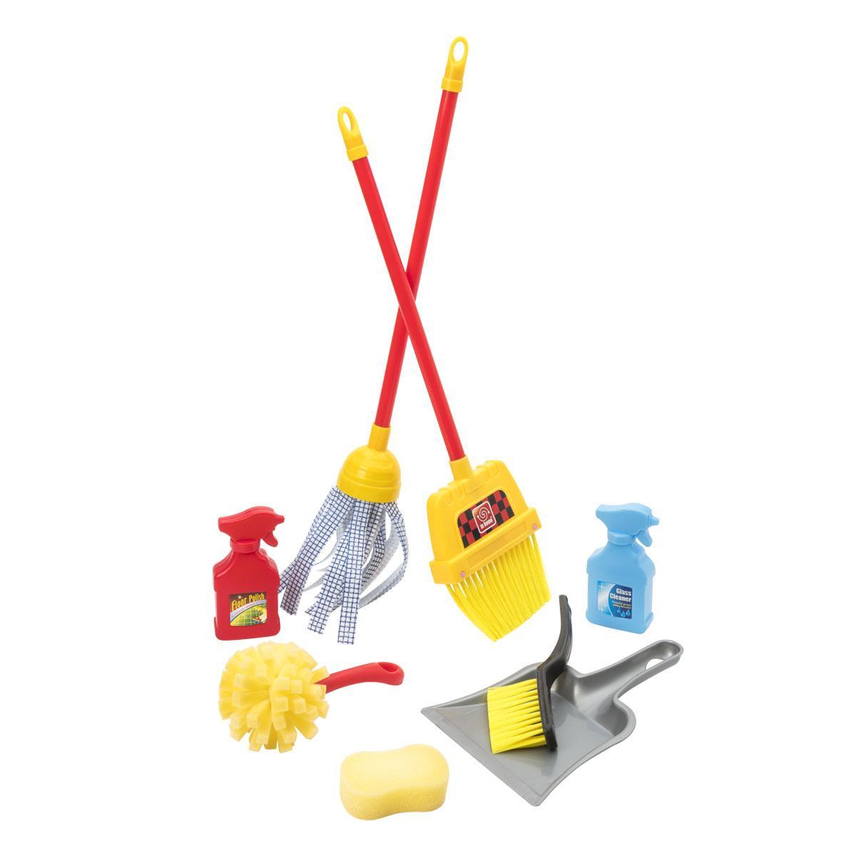 Set de ménage 8 accessoires
