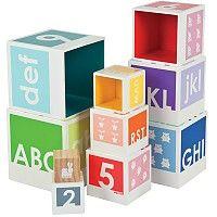 Pyramide couleurs et alphabet