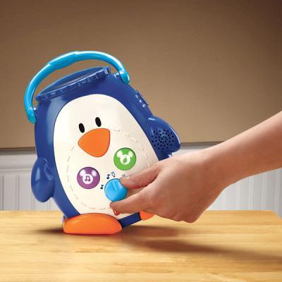 Veilleuse bébé portable pingouin