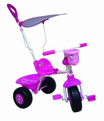 Tricycle Hello Kitty avec Canopy