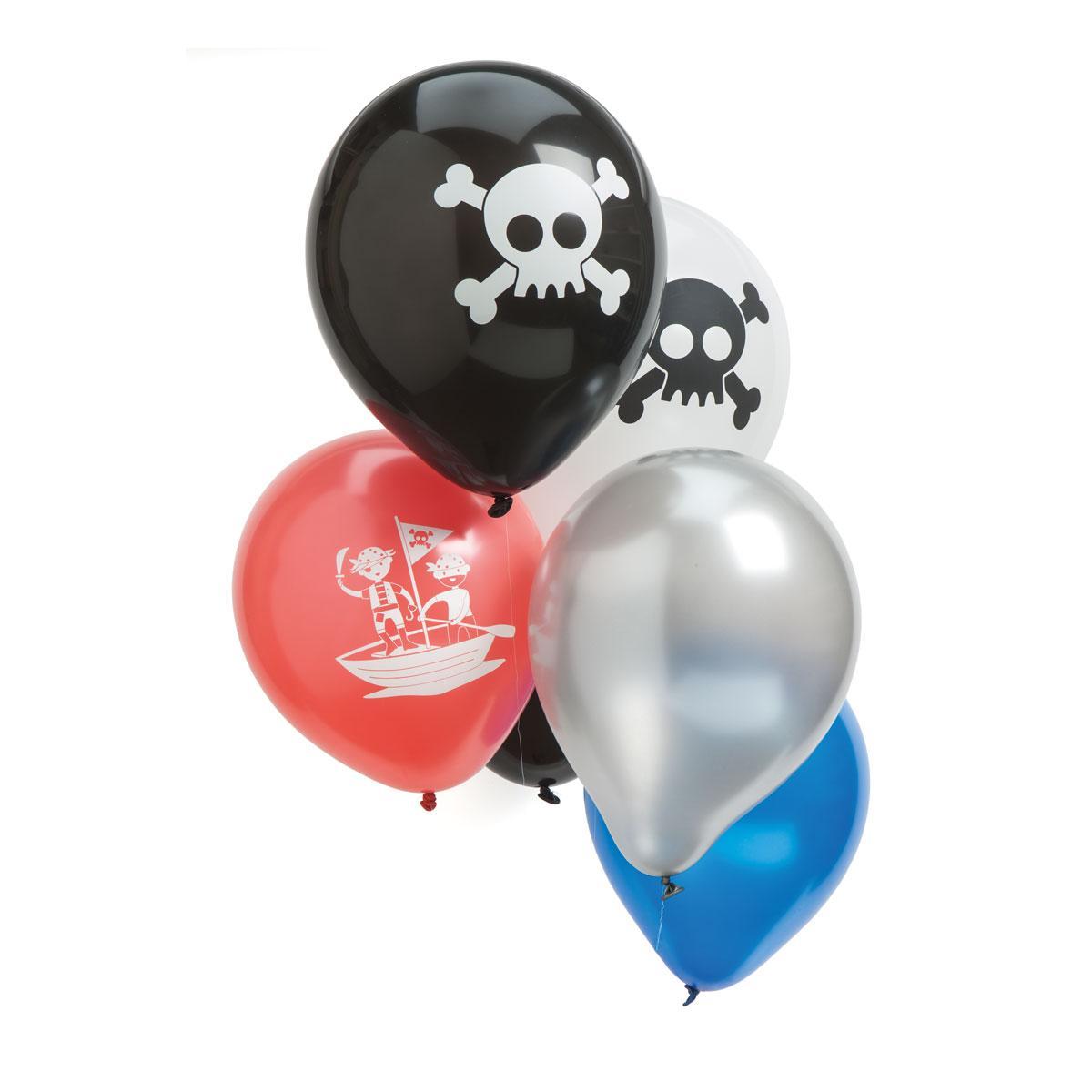 12 ballons Pirates