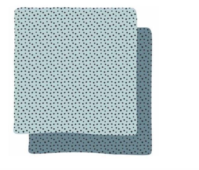 Set de 2 langes Happy Dots (70 x 70 cm)