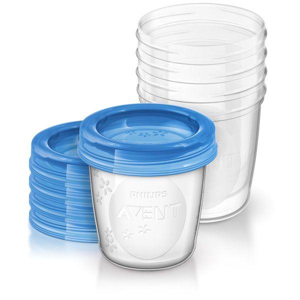 Pots de conservation 180 ml et couvercles AVENT-PHILIPS