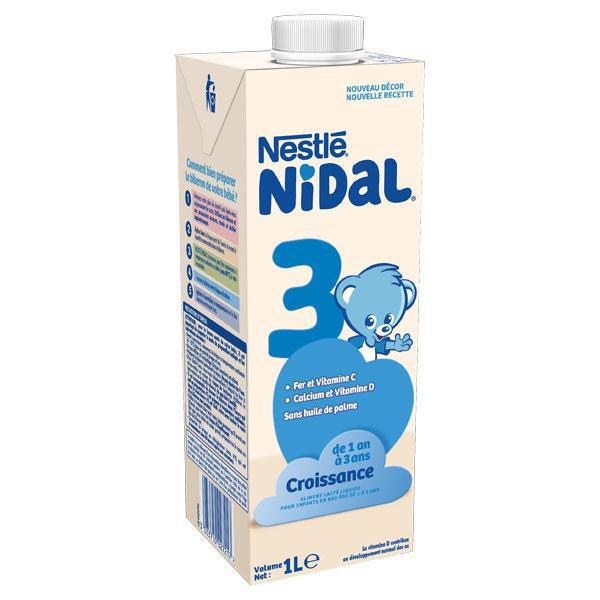 Lait 3ème âge Croissance Liquide 4x1L