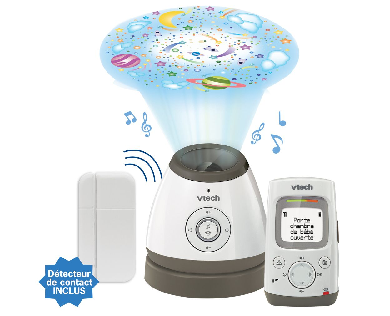 Babyphone Light Show Security BM5000 VTECH