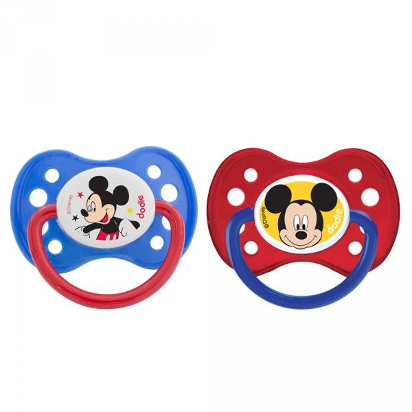 Sucette anatomique +6 mois DUO Disney Mickey