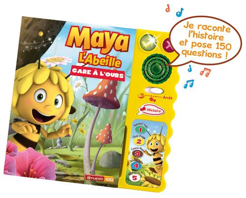 Magi Livre Interactif  Maya l'abeille VTECH