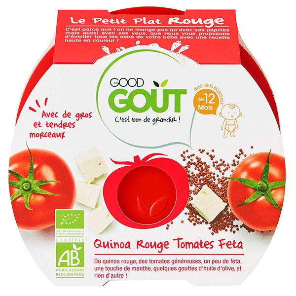 Le Petit Plat rouge : quinoa rouge, tomates, feta