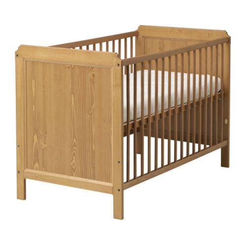 Lit bébé à barreaux 60x120 Leksvik IKEA
