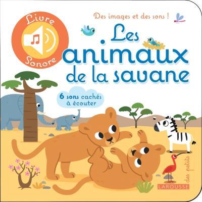 Livre sonore Les animaux de la savane