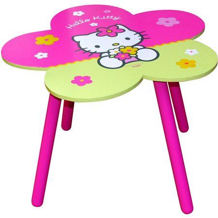Table fleur Hello Kitty
