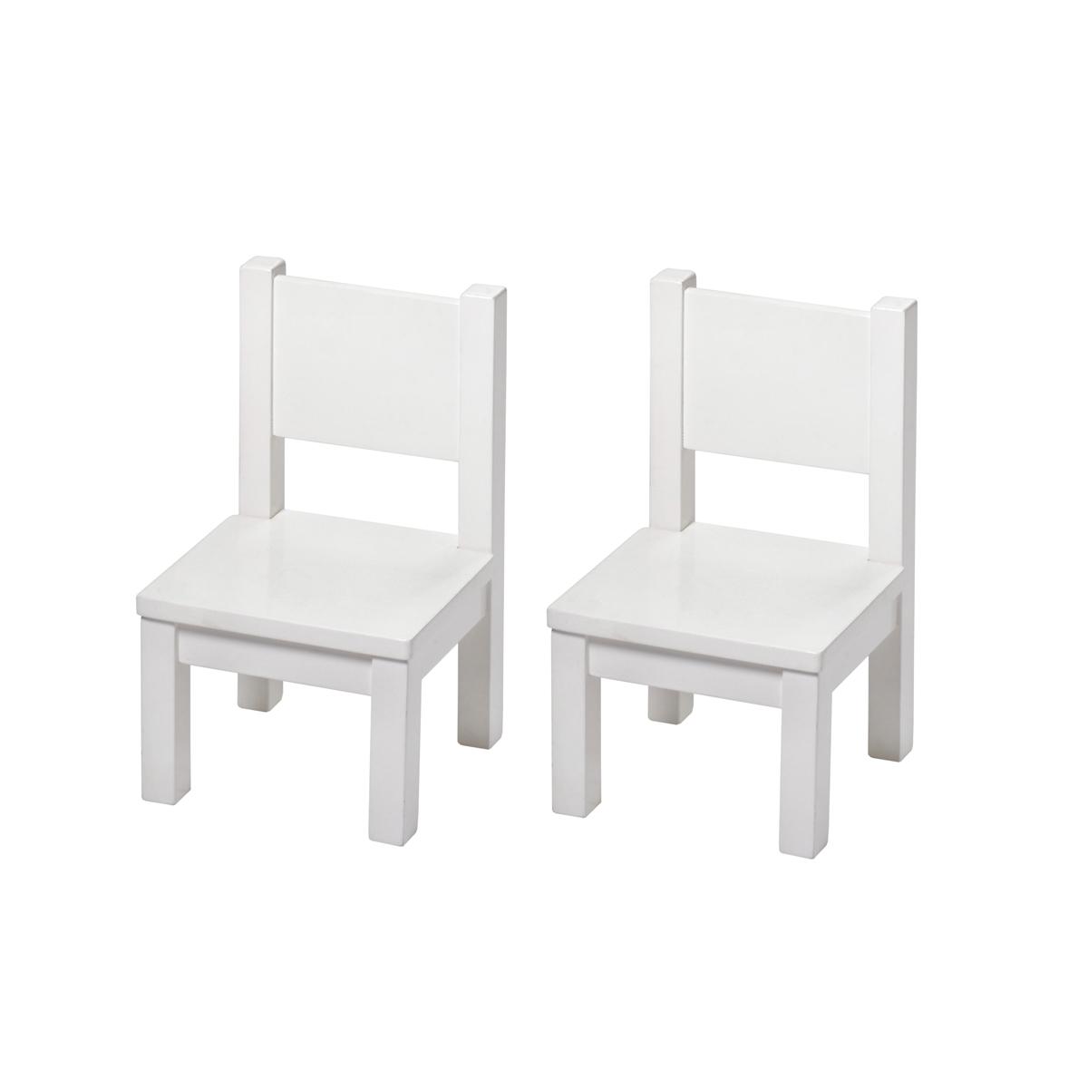 2 Chaises pour tout-petits