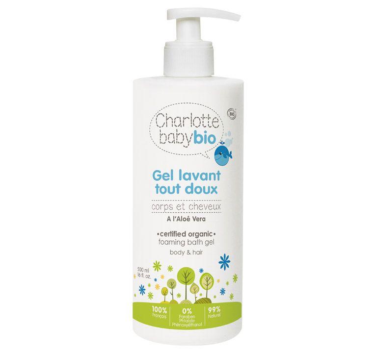 Gel lavant tout doux - Charlotte Baby Bio