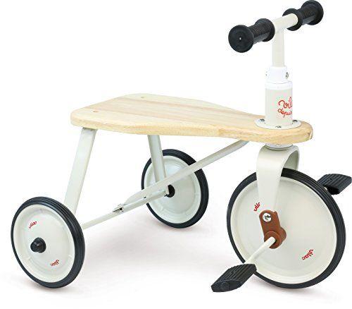 Tricycle en métal et bois