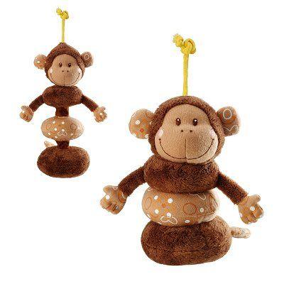 Hochet basile le singe dansant