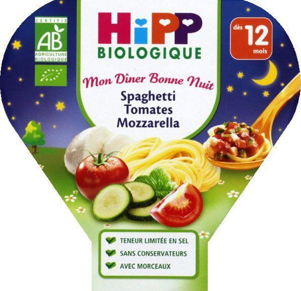 Mon Dîner Bonne Nuit : Spaghettis, tomates, mozzarella