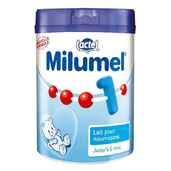 Lait Milumel 1er âge 900 g