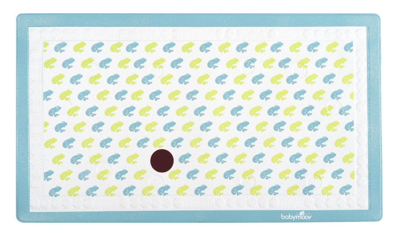 Tapis de bain indicateur température