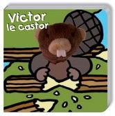 Livre marionnette Victor le Castor