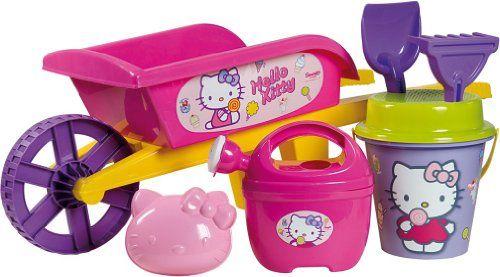 Brouette garnie Hello Kitty