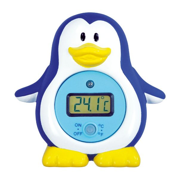 Thermomètre de bain électronique - Pingouin